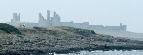 Dunstanburgh Castle by DunDiggin