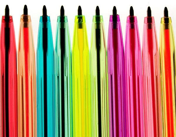 Illuminated Pens