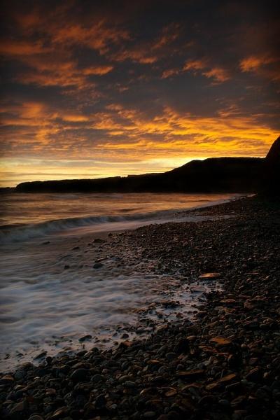 Kimmeridge Bay Sunset by paul162brown