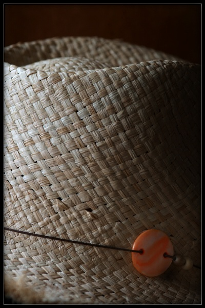 Straw Hat Detail by Morpyre