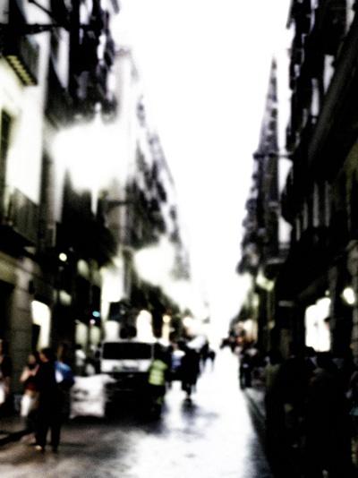 street scene barcelona by helenam
