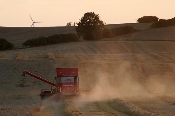 Harvest night by Monradus