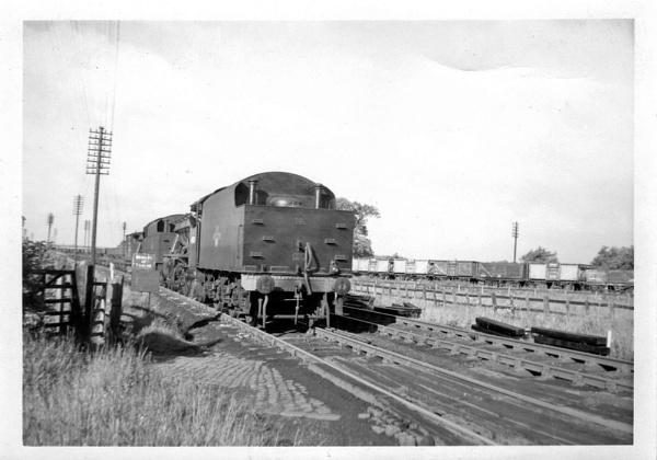 Ballast Train 1958 by spikemoz