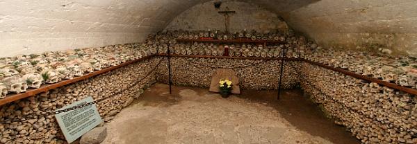 The Bone Room Hallstatt by ian smith