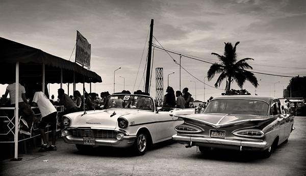 Havana beach life by park my ferret