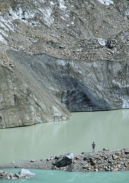 Glacier du Miage by mlewis
