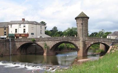 Bridge over the river Wye by Glostopcat