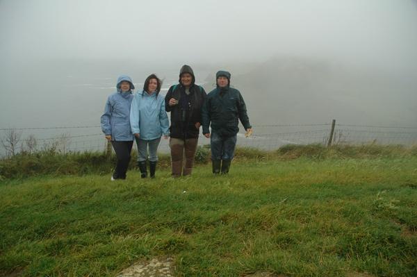 Dorset Meet in the rain. by CathyT