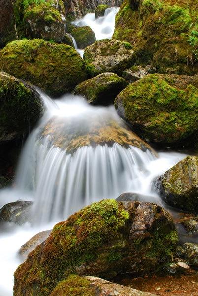 Glencoe waterfall2 by hilly1