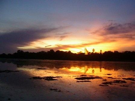 Brazilian Sunset by cphubert