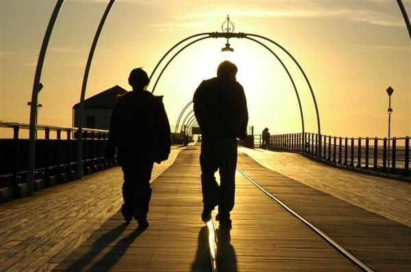 Southport sunset walk by pixclix