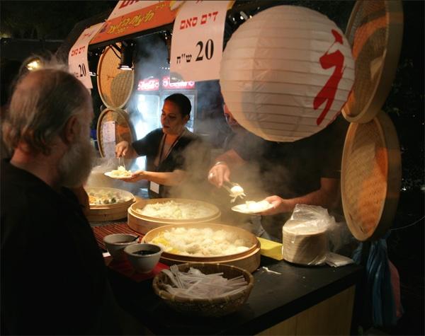 Dumpling seller Jerusalem by alansnap