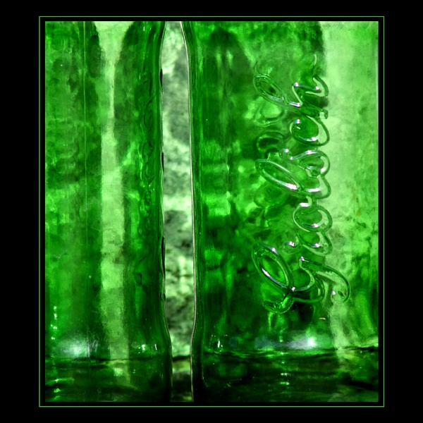 Green green glass by geranium