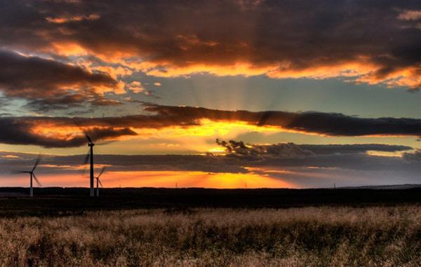 Blacklaw Sunset by CraigF