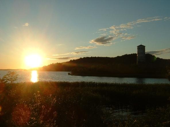 Stegeborg sunset by ktish