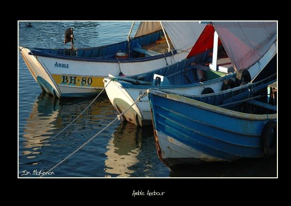 amble harbour by johnianmckinnon