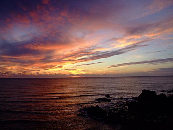 Cornish Sunset by mark1309