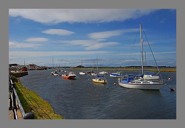Irvine Harbour, 01 by Richardtyrrelllandscapes