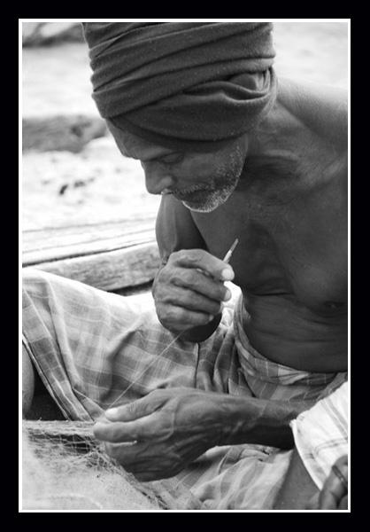 Fisherman by Strobe