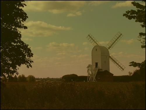The Windmill at Aythorpe Roding by sybilla