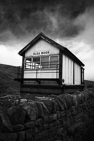 Blea Moor Signal Box by buckleyi