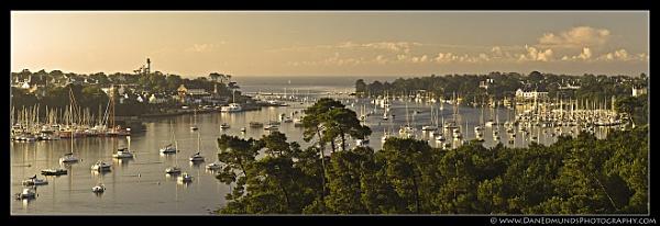 Benodet Panorama by Guernseydan