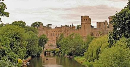 Warwick castle by clur