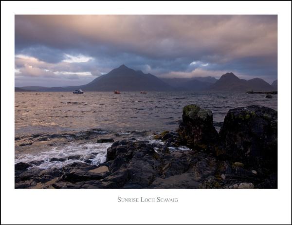 Sunrise Loch Scavaig... by Scottishlandscapes