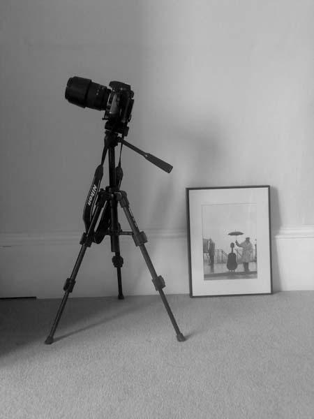 Camera & tripod by kensmith