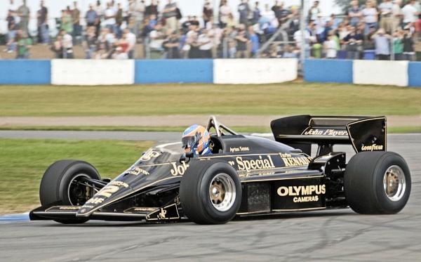 Ayrton Senna\'s JPS by KevinEllison