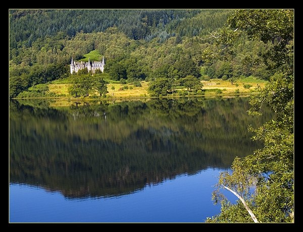 Sunshine in the Trossachs by AliMurray