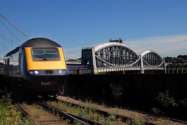 Big bridge weedy track by rayrail52
