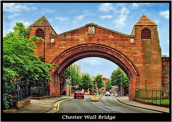 Chester Wall Bridge2 by evelen