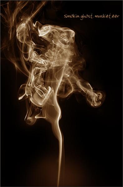 Smokin ghost musketeer by C_Daniels