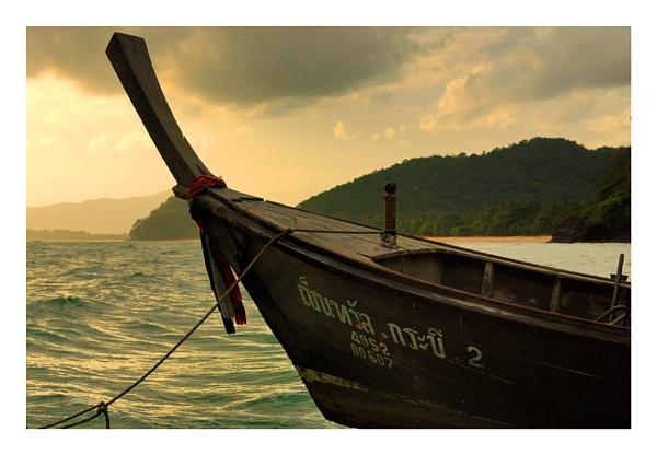 Krabi Longboat by Doclassie