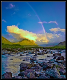 Glen Sligachan Sunset 02