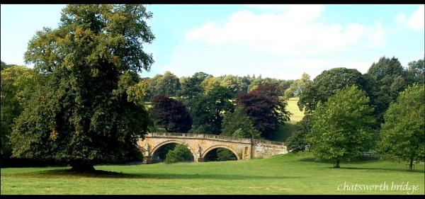 Chatsworth Bridge by suetography