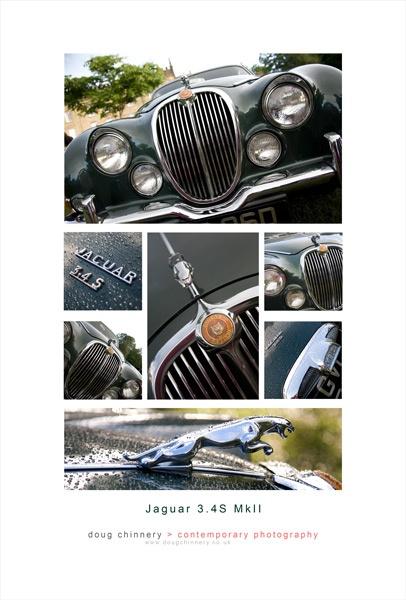 Classic Jaguar Montage by thefatcat44