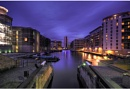 Clarence Dock by Night by Nick_w