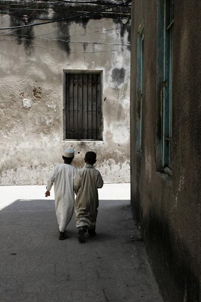 Muslim boys, Stone Town by shellby