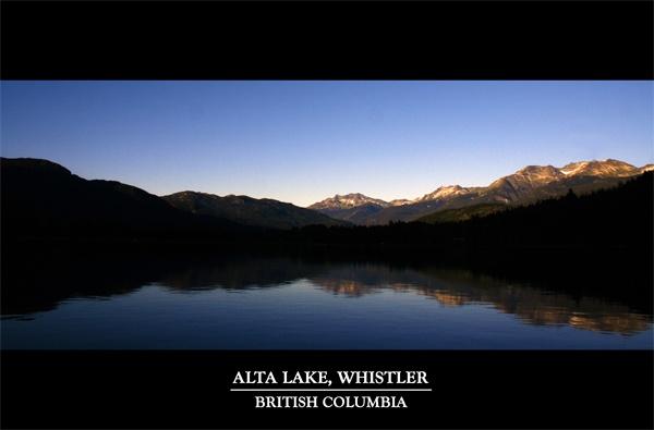 Alta Lake, Whistler by alex102