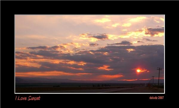 I Love Sunset by LourdesV