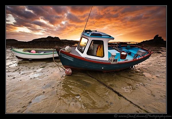 Fishing Boats of Bordeaux by Guernseydan