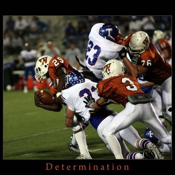 Determination by kezeka