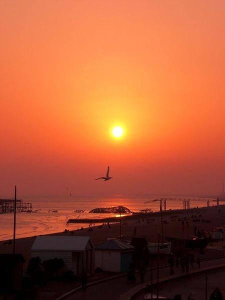 Brighton Sunset by Costy
