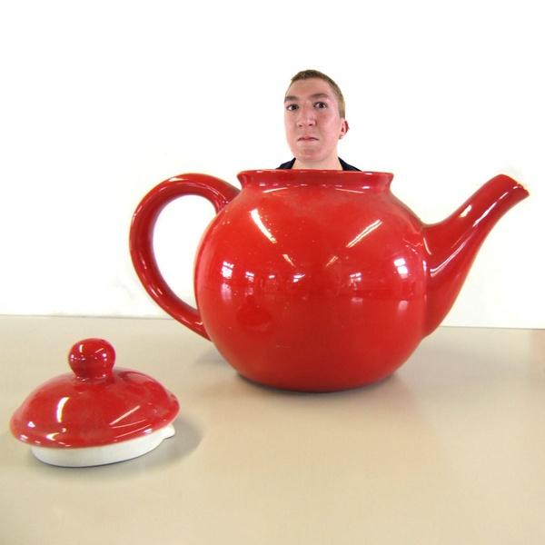 teapot boy by LaurenWoodhall