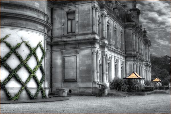 Waddesdon Manor in the Rain by stevenb