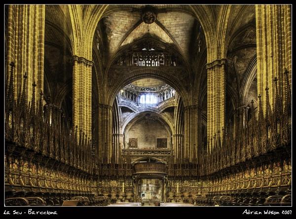 La Seu Barcelona by ade_mcfade