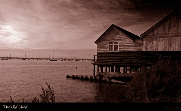 The Old Shed by markharrop