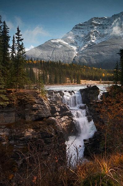 Athabasca Falls by MarkyMarc